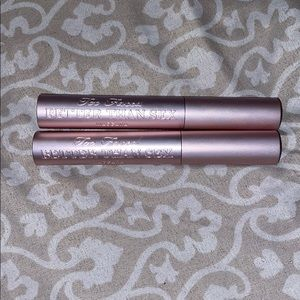 TWO too-faced better than sex FULL SIZE mascara